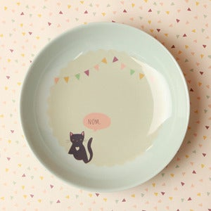 "Image of Kitty Cat 9"" Deep Plate"