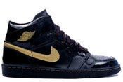 Image of Air Jordan 1 Retro Black/Gold
