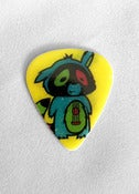 Image of AJ the Raccoon Guitar Pick