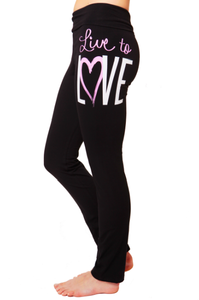 Image of Live to Love Yoga Pants