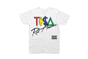 Image of TI$A RECORDS RAD AMERICA ALBUM T-SHIRT