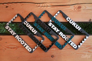 Image of Stay Rooted License Plate Holders