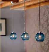 Image of Curiousa & Curiousa: Small Hand Blown Glass Pendants