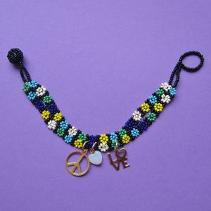 Image of Peace & Love Hippie Bead Friendship Bracelets 20% Off!