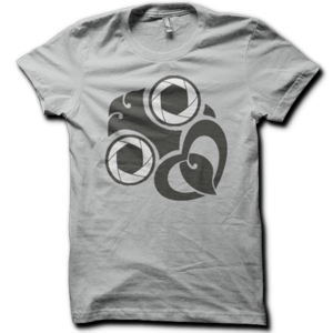 Image of Womens Shutterbug Tee - Grey