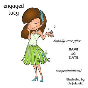 Image of Engaged Lucy