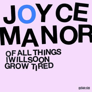 "Image of Joyce Manor - Of All Things... 10"" vinyl"