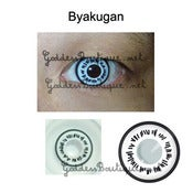 Image of Byakugan Hinata Neji Hyuga Contact Lens Cosplay Costume