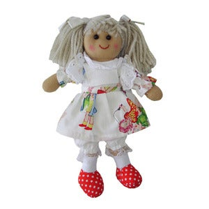 Image of Powell Craft Mini Rag Doll - Vintage Dress