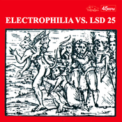 "Image of Electrophilia VS. LSD25 7"" Cherry Red Vinyl (Villa Magica)"