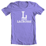 Image of L-Live Lacrosse - Lavender