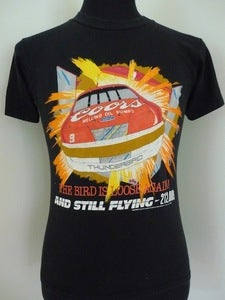 Image of 80s Coors & Ford racing T shirt