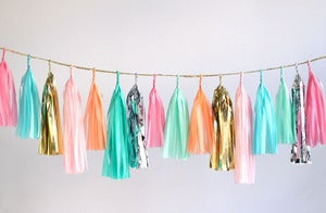 Image of Tassel Garland-Multicolor