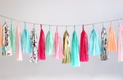 Image of Tassel Garland-Bright Multicolor