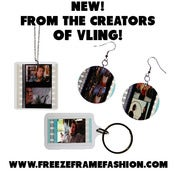 Image of FREEZE FRAME  - 35mm Movie Film Jewelry and more!
