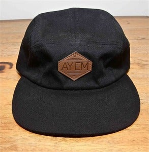 Image of AYEMLIFESTYLE Black five panel
