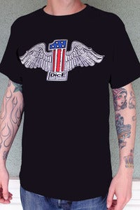 Image of NUMBER ONE WINGED TEE