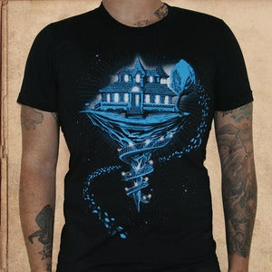 Image of House of Leaves - discharge inks - unisex 1 S/ 1 L left