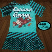 Image of **SOLD OUT** Curious George Dress - Size 2/3T