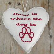 Image of 'Home is where....' Heart