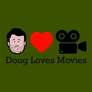 Image of Doug Loves Movies T-Shirt - Olive