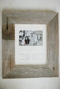 Image of Reclaimed Barn Wood Frame