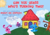 Image of Blue's Clues Invitation