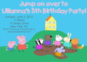 Image of Peppa Pig Invitation