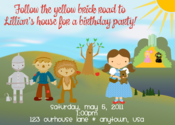 Image of Wizard of Oz Invitation #2