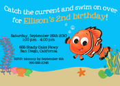 Image of Fishy Fun Invitation