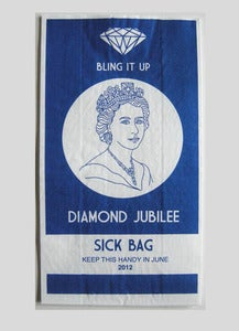 Image of Jubilee Sick Bag Blue