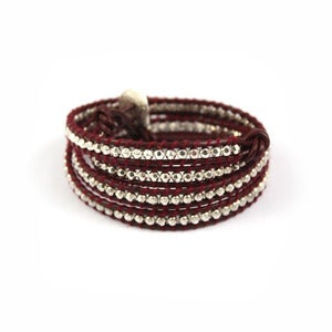 Image of MURMUR Leather Wrap Bracelet