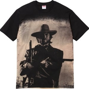 Image of SUPREME Outlaw Tee (red)
