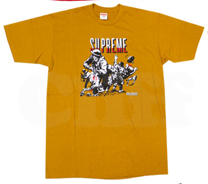 Image of SUPREME God and Country Tee (gold)