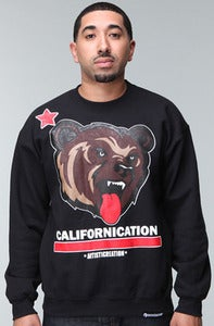 Image of Californication Crewneck-Black
