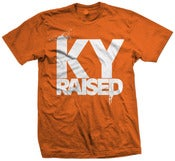 Image of KY Raised in Orange & White