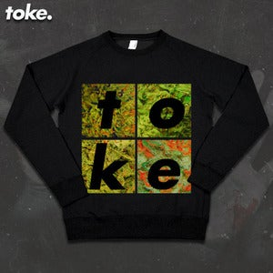 Image of Toke - Weed Boxes Sweatshirt