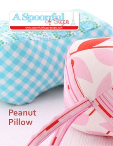 Image of Peanut Pillow PDF Sewing Pattern