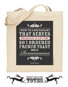 Image of French Toast TOTE BAG