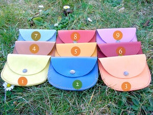 Image of Pochettes de Chapelet (ou porte-monnaie)