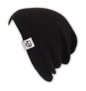 Image of Acrylic Beanie - Black
