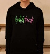 Image of Ballet Freak Black Signature Hoodie