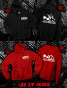 Image of LBB Zip Up Hoodie (black or red) *IN STOCK*
