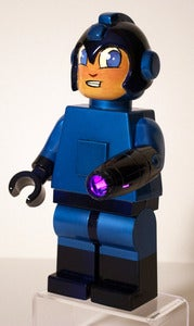 Image of Mega Man Custom Lego Torch