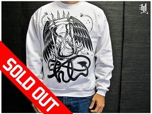 Image of *SOLD OUT* HOTLIFE - &quot;TIME FLIES v.2&quot; CREWNECK SWEATSHIRT