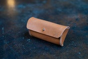 Image of Horween Leather Sunglasses Case