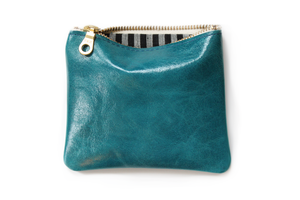 Five Inch Pouch - Bright Turquoise