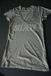 Image of Women's Believe V-Neck