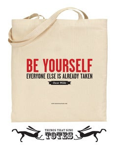 Image of Be Yourself TOTE BAG