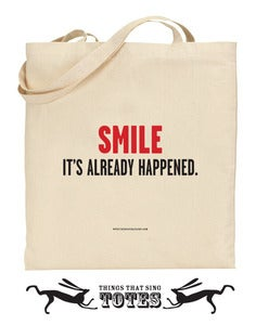 Image of It's Already Happened TOTE BAG
